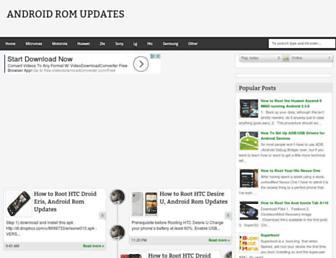 androidromupdate.blogspot.com screenshot