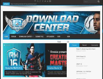 downloads.fifa-infinity.com screenshot