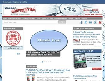 careerconfidential.com screenshot
