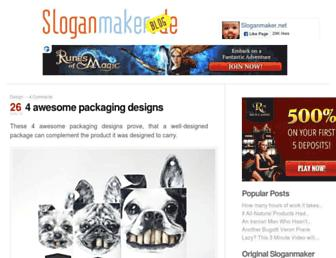 Thumbshot of Sloganmaker.net