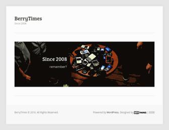 Thumbshot of Berrytimes.cn