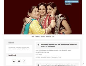 kumkumbhagya.tumblr.com screenshot