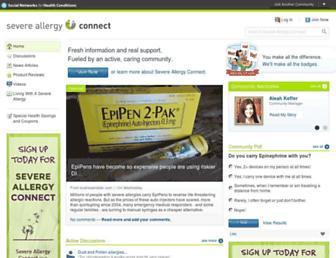 Thumbshot of Severeallergyconnect.com