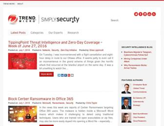 blog.trendmicro.com screenshot