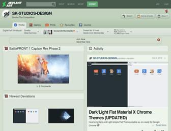 sk-studios-design.deviantart.com screenshot