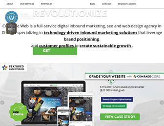 comradeweb.com screenshot