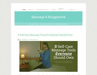 massage-therapy-blog.com screenshot