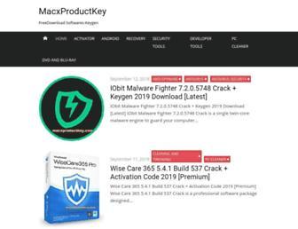 macxproductkey.com screenshot