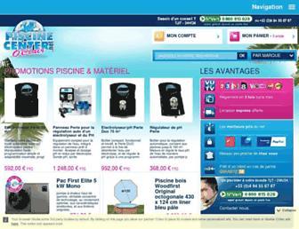 piscine-center.net screenshot