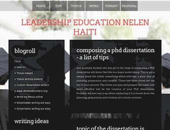 leadershipeducationnelenhaiti.com screenshot