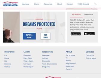 Thumbshot of Amfam.com