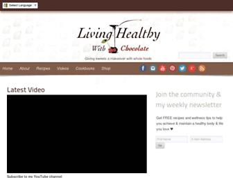 Thumbshot of Livinghealthywithchocolate.com