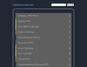 cabrownsmusic.com screenshot