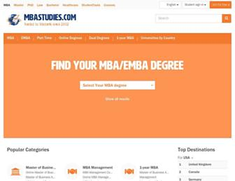 mbastudies.com screenshot