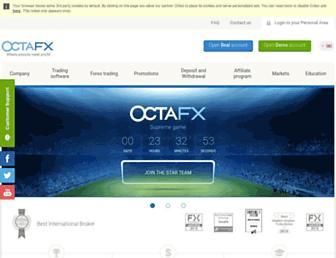 octafx.com screenshot