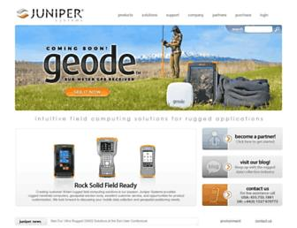 junipersys.com screenshot