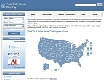 techschooldirectory.com screenshot