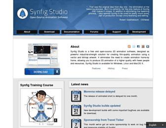 synfig.org screenshot