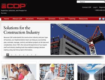 cdp-inc.com screenshot