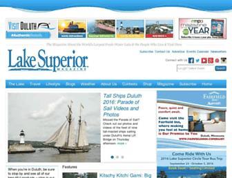 lakesuperior.com screenshot