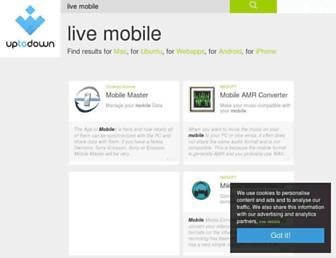 live-mobile.en.uptodown.com screenshot