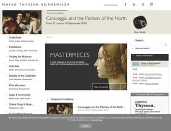 Thumbshot of Museothyssen.org