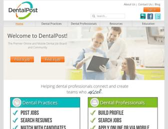 Thumbshot of Dentalpost.net