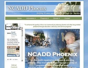 ncadd-phx.org screenshot