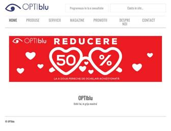 optiblu.ro screenshot