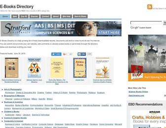 Thumbshot of E-booksdirectory.com