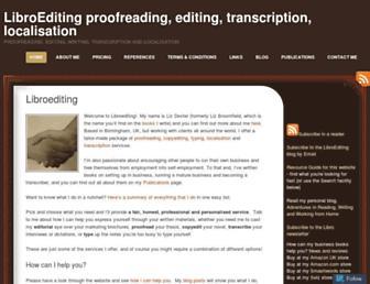 libroediting.com screenshot