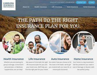 carolinainsuranceprofessionals.com screenshot