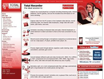 Thumbshot of Totalrecorder.com