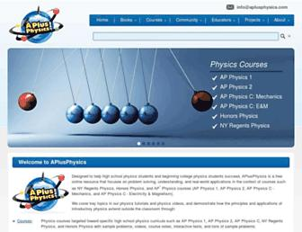 aplusphysics.com screenshot