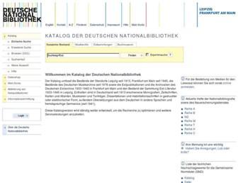 d-nb.info screenshot