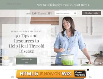 Thumbshot of Deliciouslyorganic.net