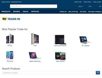 tradein.bestbuy.com screenshot