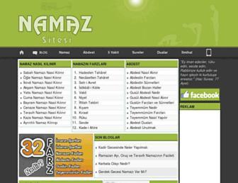 namazsitesi.com screenshot