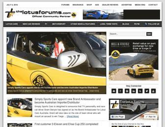 Thumbshot of Thelotusforums.com