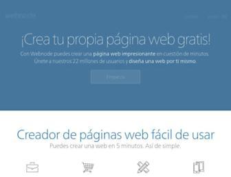 Thumbshot of Webnode.es