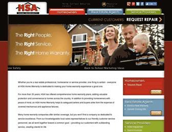 onlinehsa.com screenshot