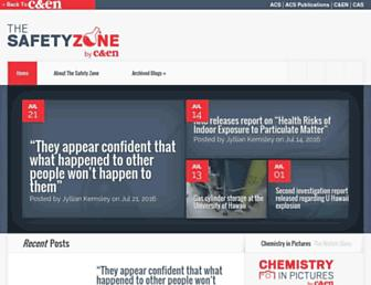 Main page screenshot of cenblog.org