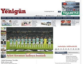 konyayenigun.com screenshot