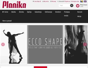 planika.ba screenshot
