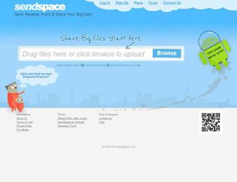 Thumbshot of Sendspace.com