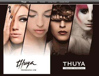 thuya.com screenshot