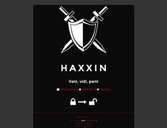 haxx.in screenshot
