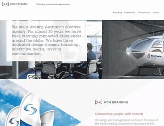 mdmdesign.com.au screenshot