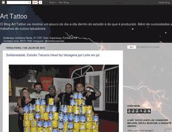 arttattooestudio.blogspot.com screenshot