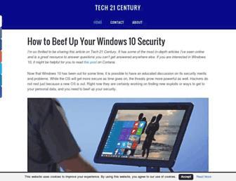 tech21century.com screenshot